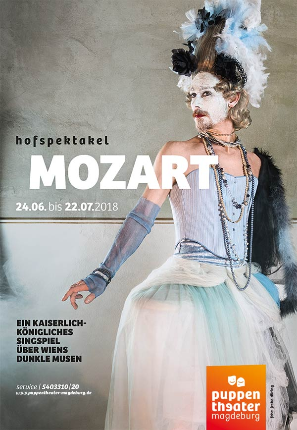 Mozart - Hofspektakel Puppentheater Magdeburg 2018 - Jesko Döring