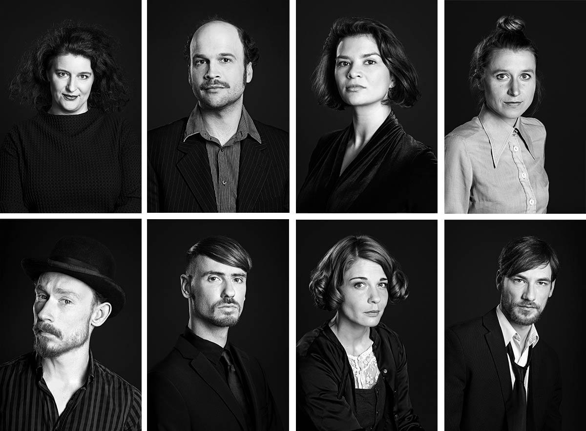 Puppentheater Magdeburg Ensemble 2017.18