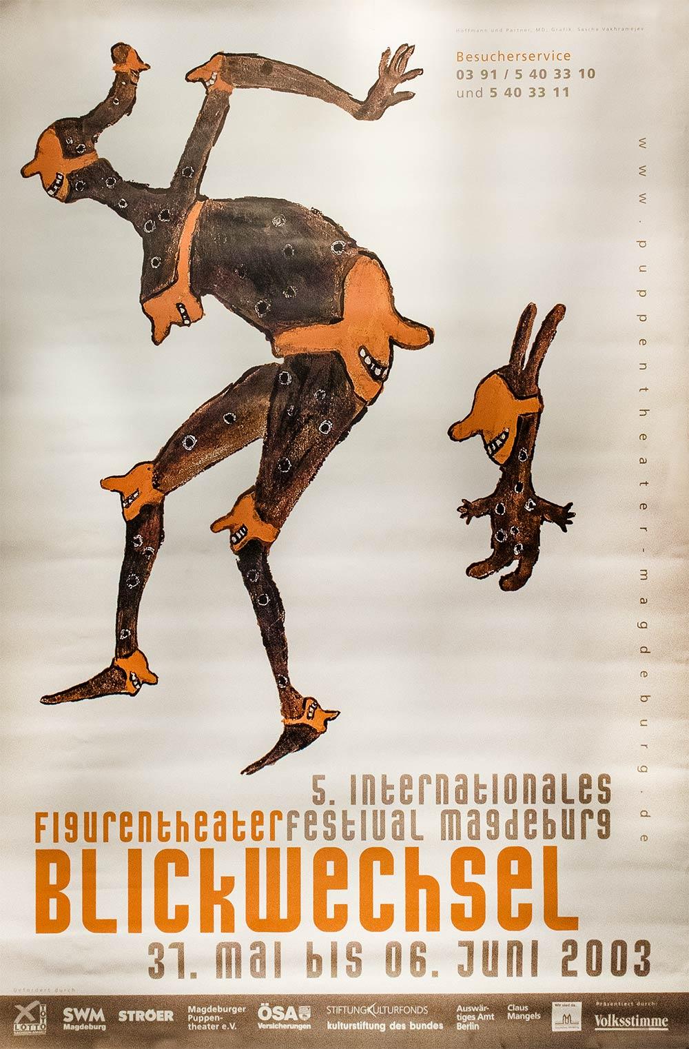 Internationales Figurentheaterfestival Blickwechsel 2003