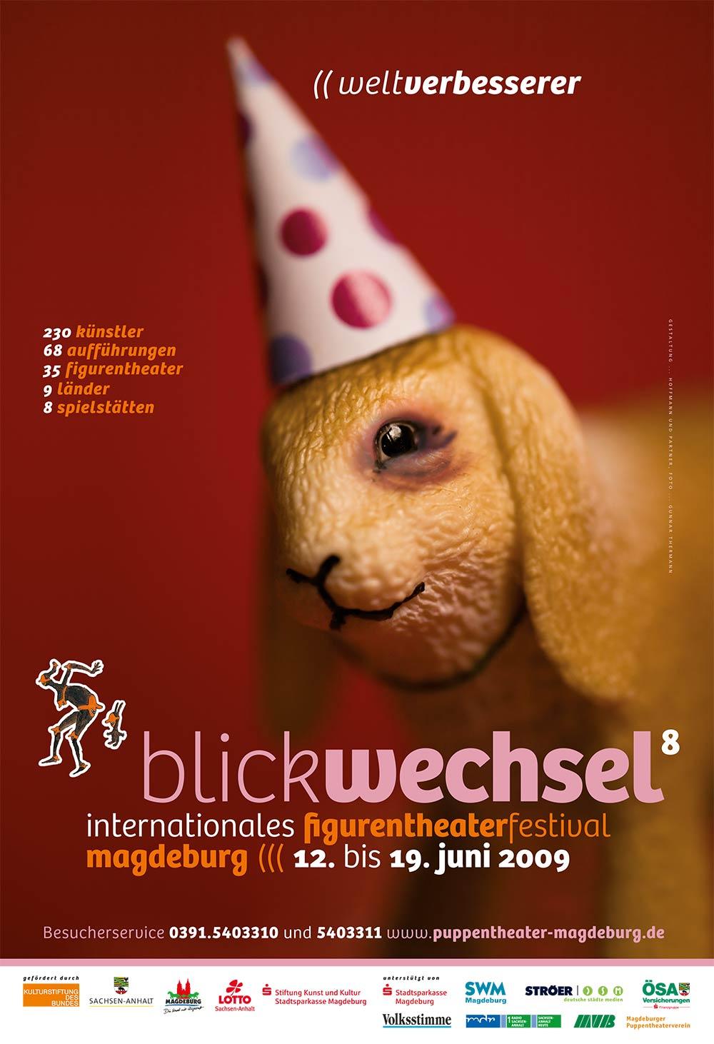 Blickwechselfestival 2009 Weltverbesserer