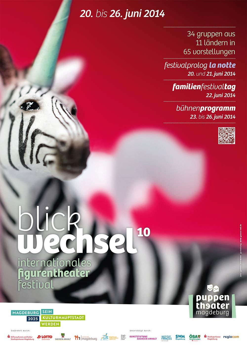 Internationales Figurentheaterfestival Blickwechsel 2014