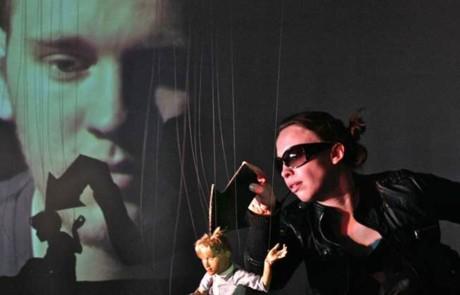 """Hochschule für Schauspielkunst """"Ernst Busch"""", Abt. Puppenspielkunst : HOW TO PLACE YOUR FACE 1 TO 5 - HYBRIDE FORMEN 1"""