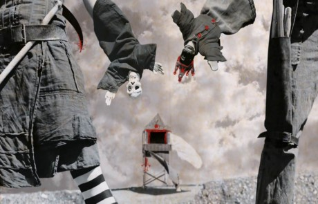 Compagnie La Pendue : Poli Degaine Policinelle, der schräge Vogel