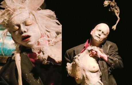 Figurentheater Wilde & Vogel : Spleen-Charles Baudelaire- Gedichte in Prosa