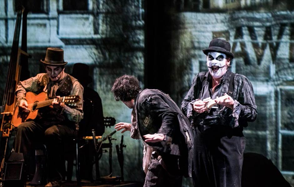 Edgar Allen Poe's Haunted Palace featured by The Tiger Lillies (GB)