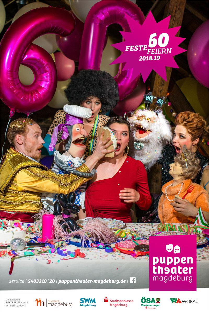 Puppentheater Magdeburg Titelbild 2018/19