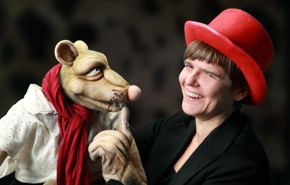 Rattenscharf – Figurentheater Cornelia Fritzsche, Ursula von Rätin