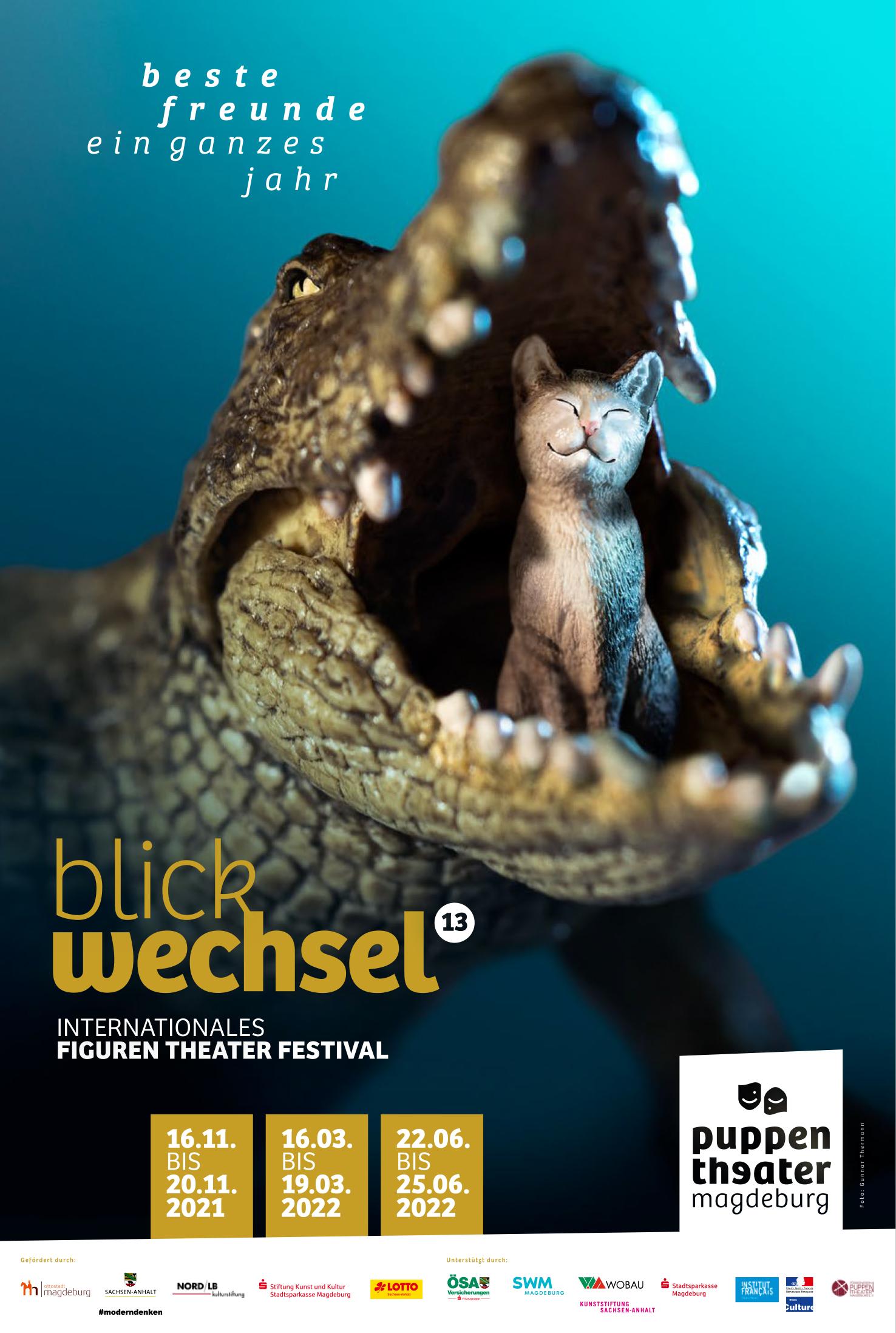 Internationales Figurentheaterfestival Blickwechsel 2021